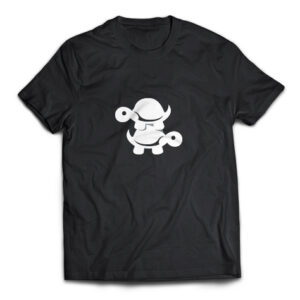Double Turtle black t-shirt